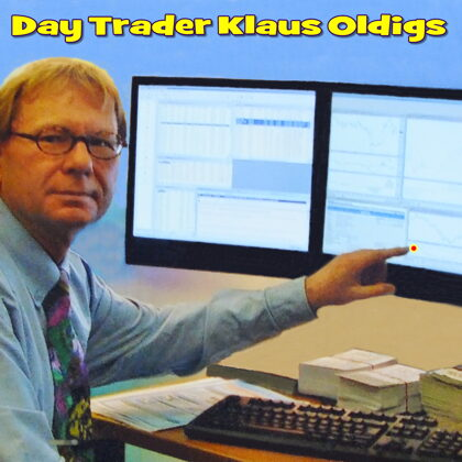 Day Trader Klaus Oldigs for you at work